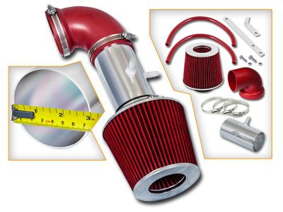 01-04 Chrysler Sebring 2.7L V6 Short RAM Air Intake - Red Filter