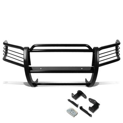 01-04 Ford Escape CD2 Front Bumper Protector Brush Grille Guard (Black)