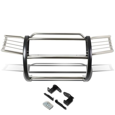 01-04 Ford Escape CD2 Front Bumper Protector Brush Grille Guard (Chrome)