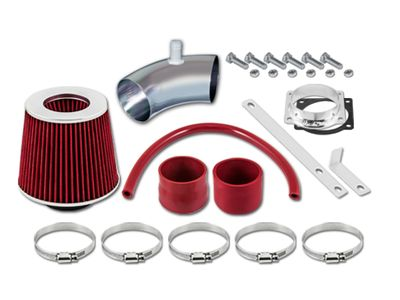 01-04 Ford Escape Limited/XLS/XLT 3.0L V6 Short Ram Air Intake Kit - Red