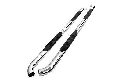 01-04 Toyota Tacoma D-Cab 3 Side Step Bar - Stainless Steel