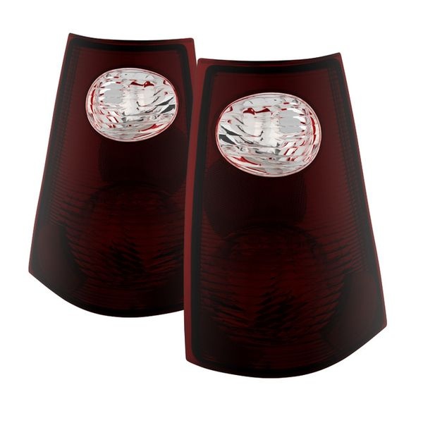01-05 Ford Explorer [Sport Trac Only] OEM Style Replacement Tail Lights  Pair - Smoked