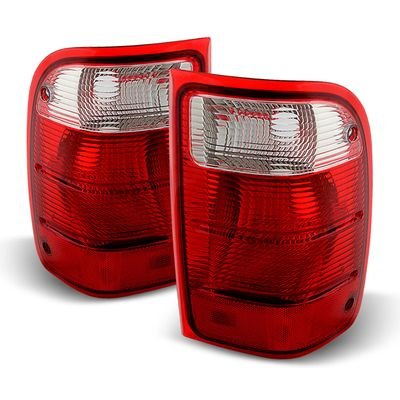 01-05 Ford Ranger [Non STX model] OEM Style Replacement Tail Lights  Pair