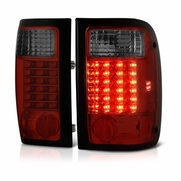 01-05 Ford Ranger Pickup LED Altezza Tail Lights - Red / Smoked
