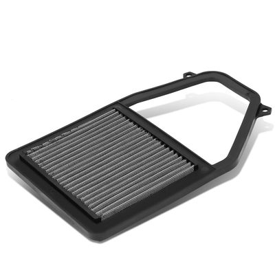 01-05 Honda Civic 1.7L Reusable & Washable Replacement High Flow Drop-in Air Filter (Silver)