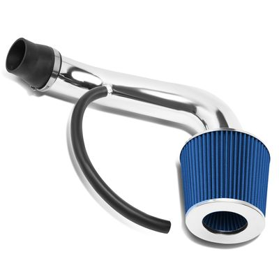 "01-05 Honda Civic EX 3"" OD Blue Performance Short Ram Air Intake + Filter System"