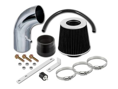01-05 Hyundai Accent 1.6L Short Ram Air Intake Kit - Black