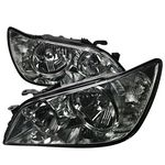 01-05 Lexus IS300 Replacement Crystal Headlights - Smoked