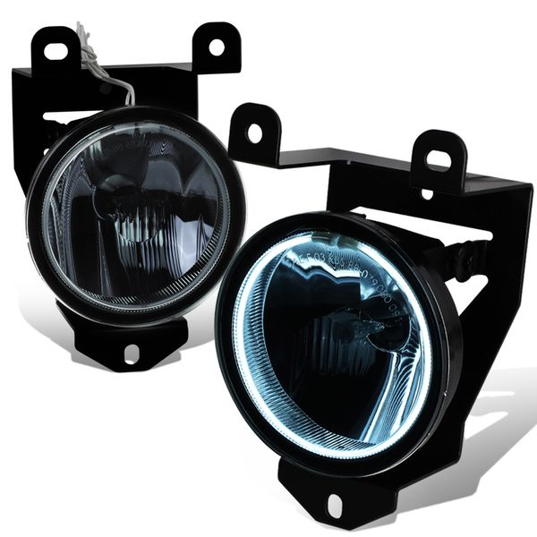01-06 GMC Sierra / Yukon Denali Halo Fog Lights - Smoked