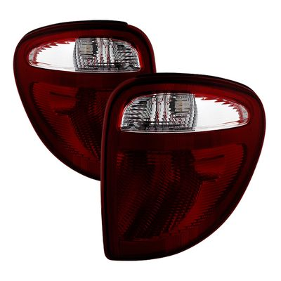 01-07 Dodge Caravan / Town & Country OEM Replacement Tail Lights - Smoked