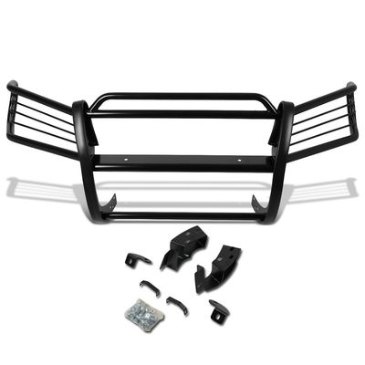01-07 Toyota Highlander XU20 Front Bumper Protector Brush Grille Guard (Black)