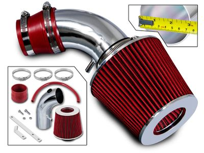 01-09 Chrysler PT Cruiser 2.4L I4 Non-Turbo Short Ram Air Intake Kit - Red