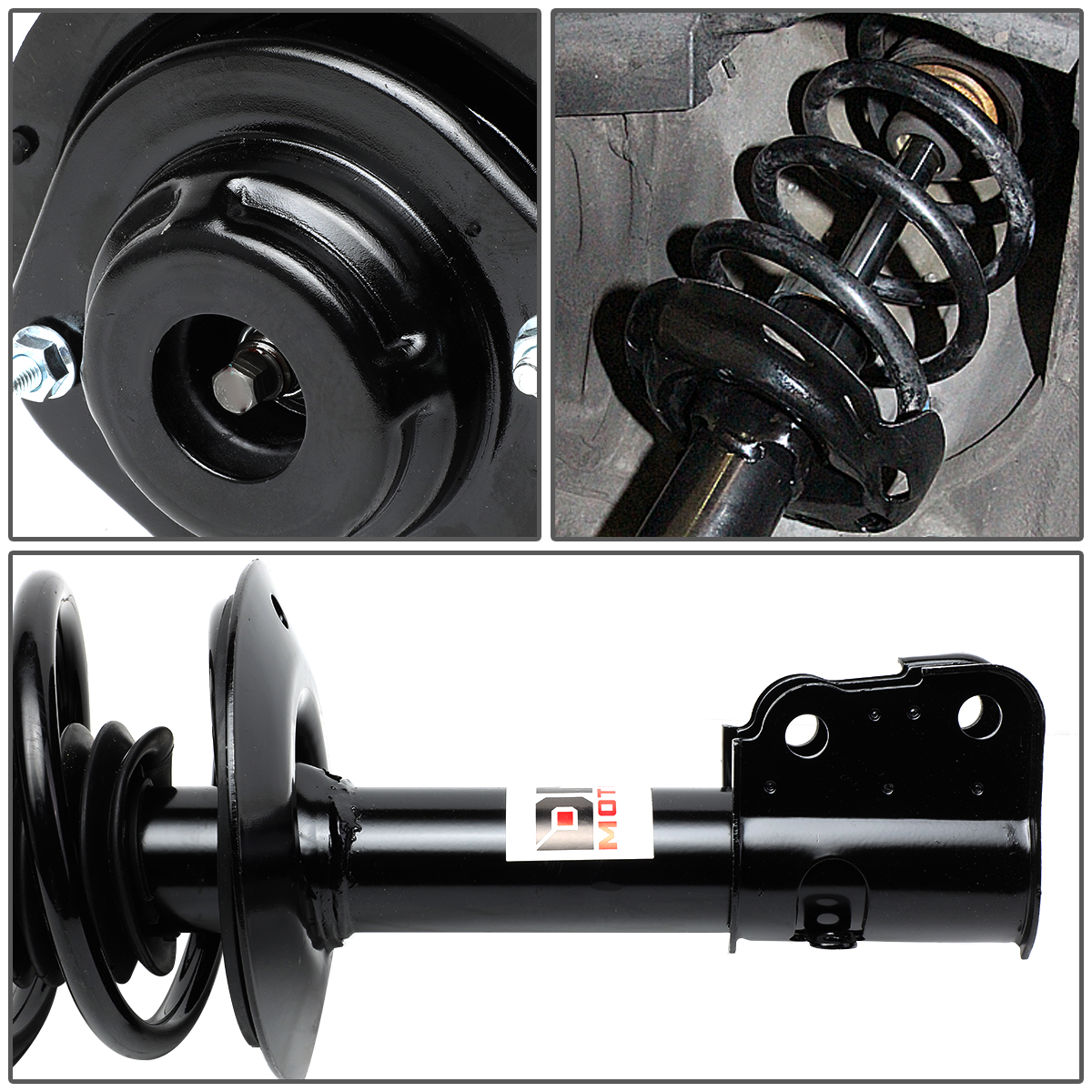 2 NEW Heavy Duty  Front Left /& Right  Shock Strut Assembly Pair Set