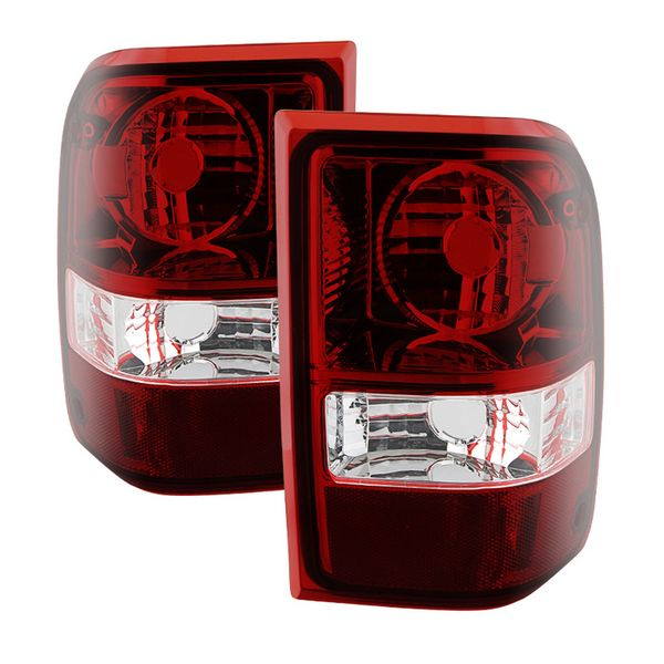 06-11 Ford Ranger [NON STX] OEM Style Replacement Tail Lights Pair - Smoked