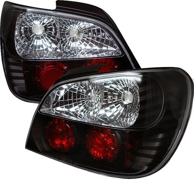 02-03 Subaru Impreza WRX Euro Style Altezza Tail Lights - Black ALT-YD-SI01-BK By Spyder