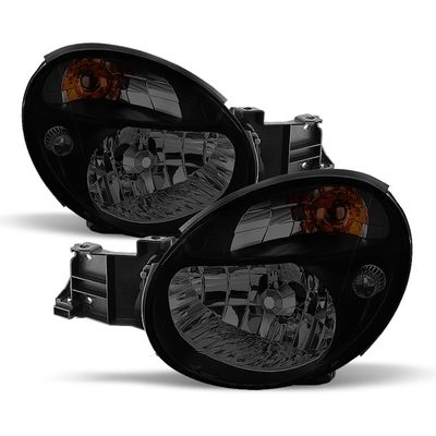02-03 Subaru Impreza WRX  / Outback Crystal Replacement Headlights - Smoked