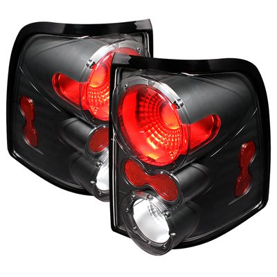02-04 Ford Explorer Euro Style Altezza Tail Lights - Black ALT-ON-FEXP02-BK By Spyder