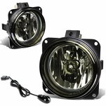 02-04 Ford Focus/03-04 Mustang Smoked Lens OE Bumper Fog Light Lamp Pair+Switch