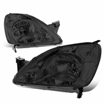 02-04 Honda CR-V OE-Style Replacement Headlights - Smoked / Clear