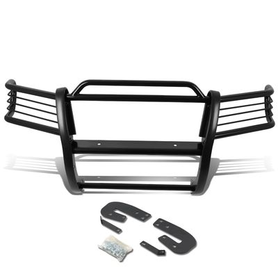 02-04 Nissan Xterra WD22 Front Bumper Protector Brush Grille Guard (Black)