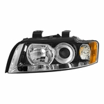 02-05 Audi A4 S4 Halogen Headlight Headlamp Replacement Right Passenger Side