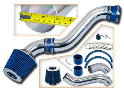 02-05 Chevy Trailblazer 4.2L V6 Short Ram Air Intake Kit - Blue