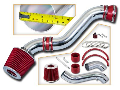 02-05 Chevy Trailblazer 4.2L V6 Short Ram Air Intake Kit - Red