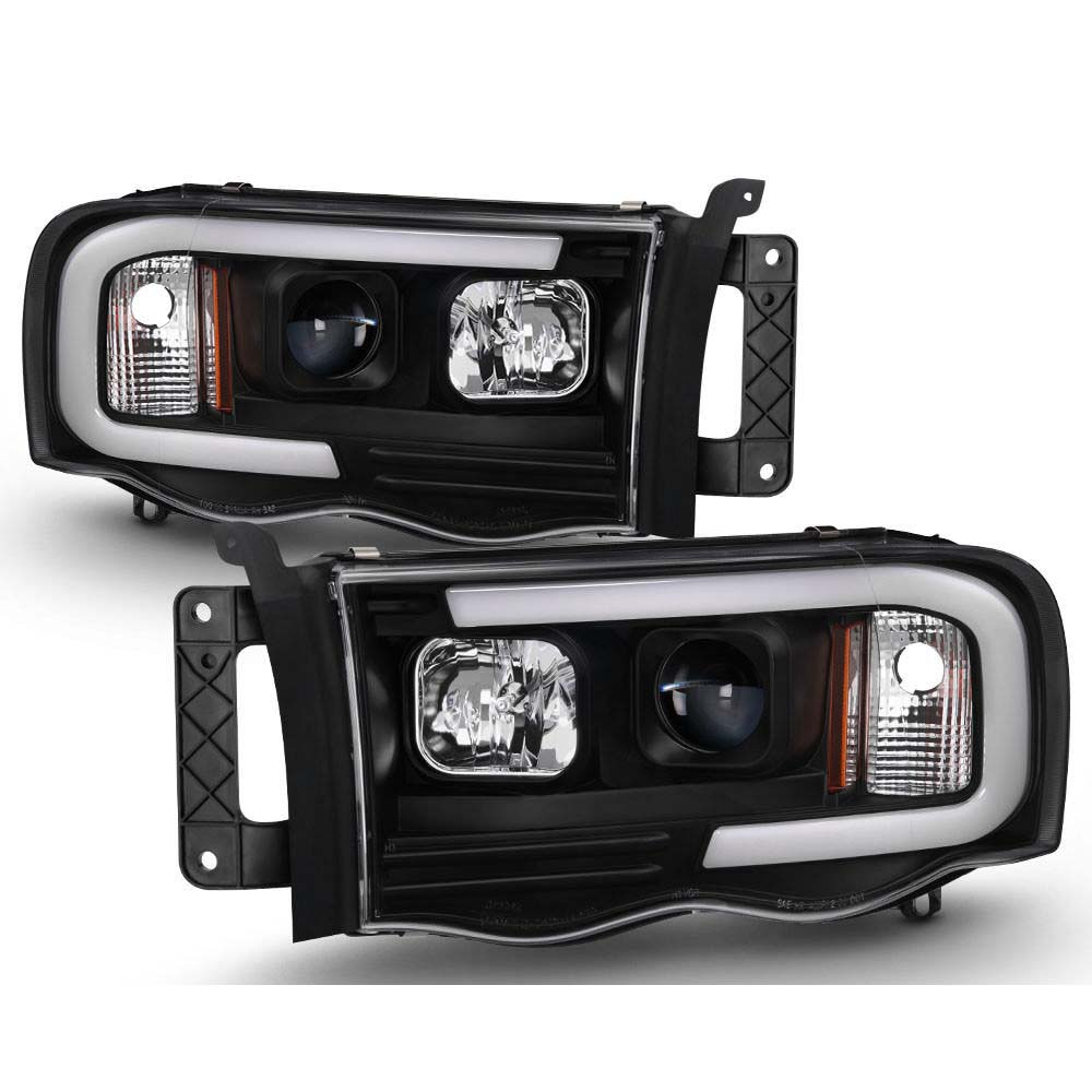 Dodge Ram 1500 03 05 2500 3500 Led Projector Headlights Click To Enlarge