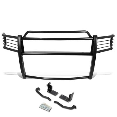 02-05 Dodge Ram 1500/2500/3500 Front Bumper Protector Brush Grille Guard (Black)
