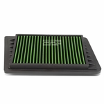 02-05 Jeep Wrangler / Liberty 2.4L Reusable & Washable Replacement High Flow Drop-in Air Filter (Green)