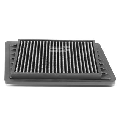 02-05 Jeep Wrangler / Liberty 2.4L Reusable & Washable Replacement High Flow Drop-in Air Filter (Silver)