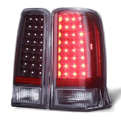 02-06 Cadillac Escalade / 03-06 ESV Model Performance LED Tail Lights - Black