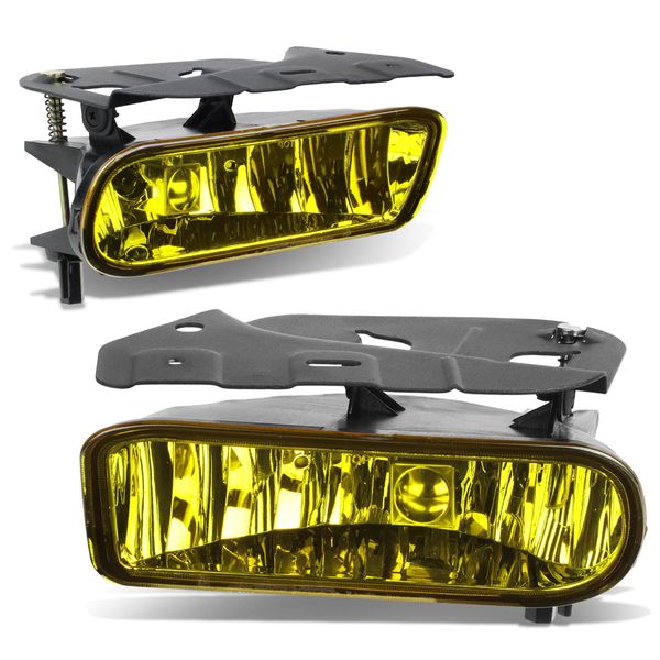 02-06 Cadillac Escalade Oe Yellow Lens Bumper Fog Light (No Switch / Harness)