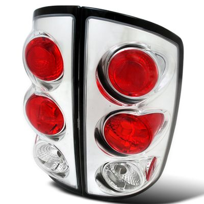 02-06 Dodge Ram 1500 2500 3500 Altezza Tail Lights - Chrome