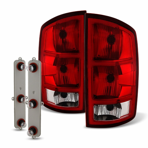 02-06 Dodge RAM OEM Style Replacement Tail Lights Pair