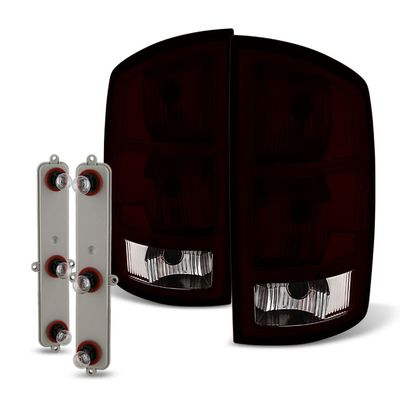 02-06 Dodge RAM OEM Style Replacement Tail Lights Pair - Smoked