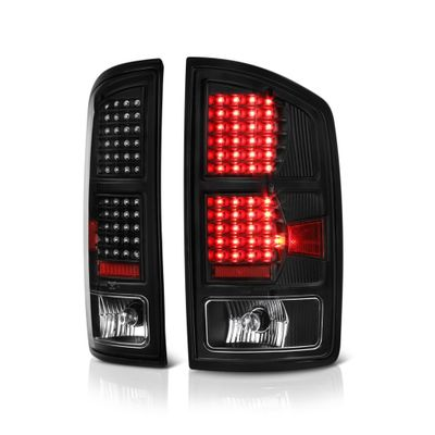 02-06 Dodge Ram Pickup Black G2 LED Tail Lights