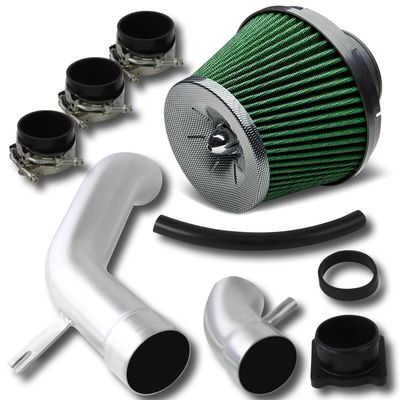02-06 Nissan Sentra 2.5L Performance Cold Air Intake + Carbon Green Filter