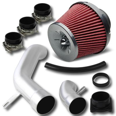 02-06 Nissan Sentra 2.5L Performance Cold Air Intake + Carbon Red Filter