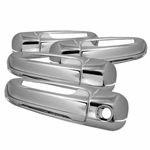 02-07 Jeep Liberty 4door Chrome Door Handle Covers