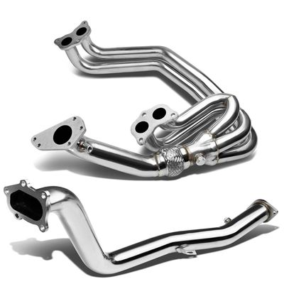 02-07 Subaru Impreza WRX / STI Ej25 Stainless Manifold Header Up Pipe + Downpipe Exhaust