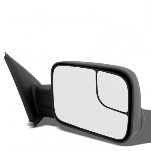 POWERED+HEAT FOLDABLE REAR VIEW TOWING SIDE MIRROR FOR 02-08 DODGE RAM 1500-3500