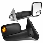 02-08 Dodge RAM 1500 / 03-09 2500-3500 Manual Adjust / Amber LED Signal Towing Side Mirrors