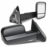 02-08 Dodge RAM Power Adjust + Heated Side Towing Mirror - Black