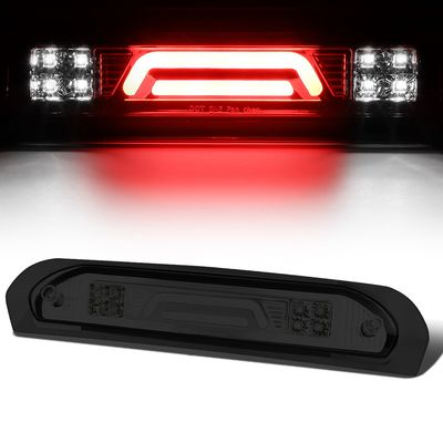 02-08 Dodge RAM Truck 3D LED Bar 3rd Third Brake Light Rear Cargo Lamp (Chrome / Smoked)