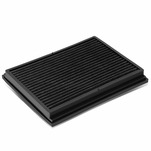 02-09 Audi A4 / 04-09 S4 / 07-08 RS4 Reusable & Washable Replacement High Flow Drop-in Air Filter (Black)