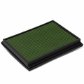 02-09 Audi A4 / 04-09 S4 / 07-08 RS4 Reusable & Washable Replacement High Flow Drop-in Air Filter (Green)