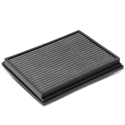 02-09 Audi A4 / 04-09 S4 / 07-08 RS4 Reusable & Washable Replacement High Flow Drop-in Air Filter (Silver)