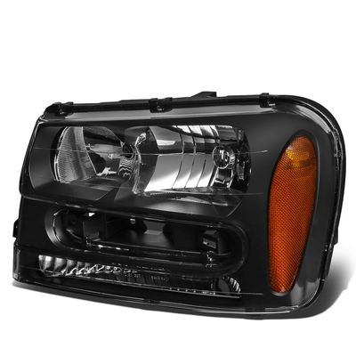 02-09 Chevy Traiblazer EXT OE Style Left Headlight Replacement GM2502213