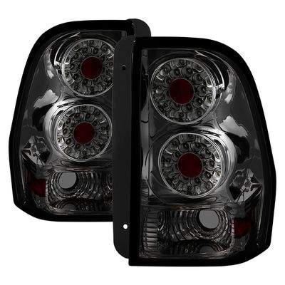 02-09 Chevy Trail Blazer Euro Style LED Tail Lights - Smoked ALT-ON-CTB02-LED-SM By Spyder
